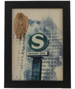 Pappel-Sperrholz A3 mit Rahmen